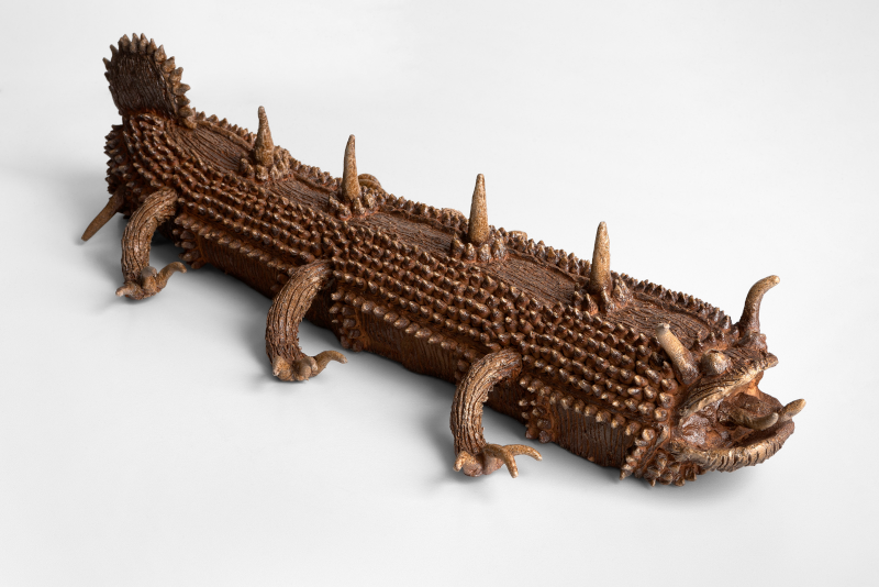 Shinichi Sawada, ohne -Titel 19, 2012, Keramik, 13x58x24 cm, Foto Andreas Pauly