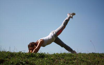 Relaxing-Yoga im Museumspark