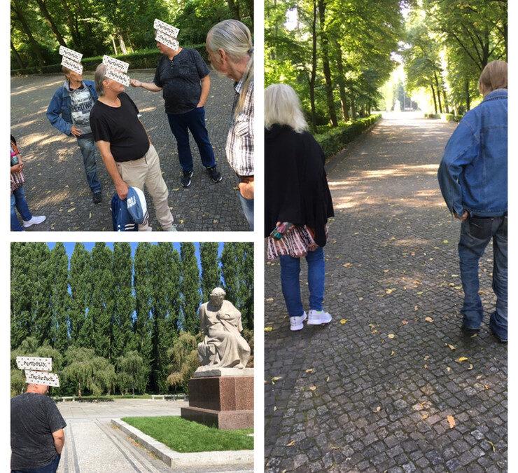 Wie frei bin ich? – Ausflugstherapie in den Treptower Park – Sowjetisches Ehrenmal