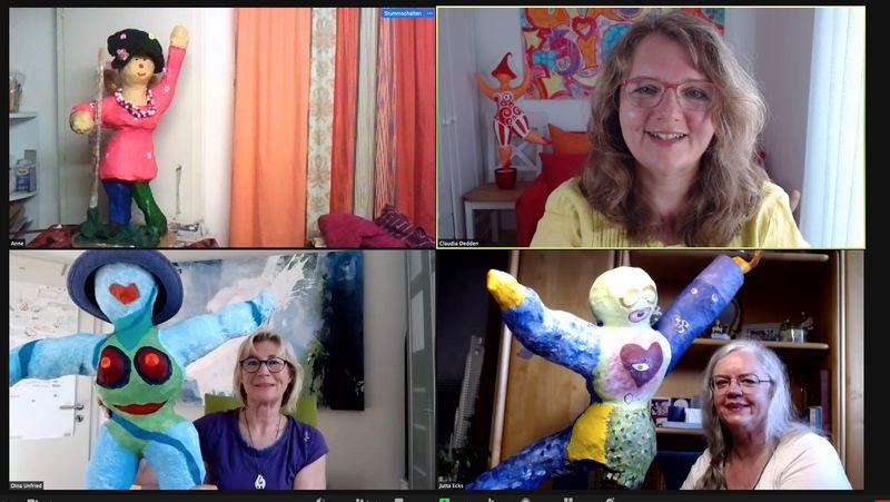 Online Workshop Nana malen für Frauen 2